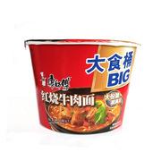 康師傅   超爽桶紅燒牛肉味 143g