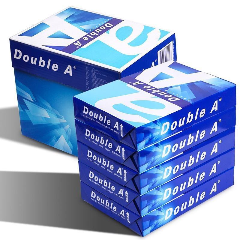 达伯埃   DOUBLE A 复印纸 A4 80G(5包/箱) 白色