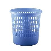 博明 塑料圓形鏤空垃圾桶/廢紙簍 25.5*25.5*26CM