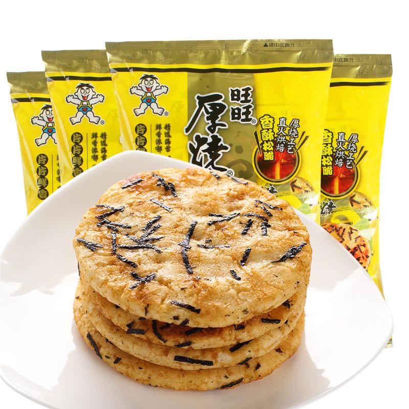 旺旺   原味厚烧海苔饼 118g