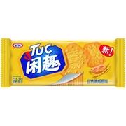 闲趣   清咸自然原味韧性饼干 90g