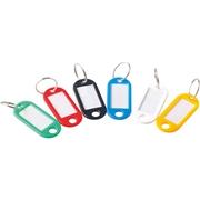 史泰博 鑰匙扣/鑰匙牌 170*210*40 100個/袋 彩色