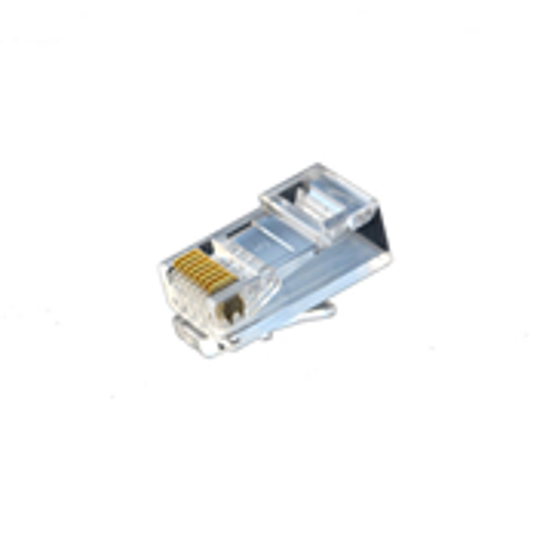 酷比客 LCLNC6PLUG-3U 六類非屏蔽網絡水晶頭 RJ45千兆網線 8P8C 100個/盒