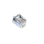 酷比客 LCLNC3PLUG 电话水晶头 100只 透明色 连接电话线
