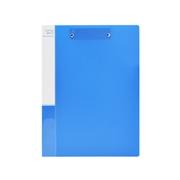 史泰博 NP1036 双强力夹 A4 蓝色 1个