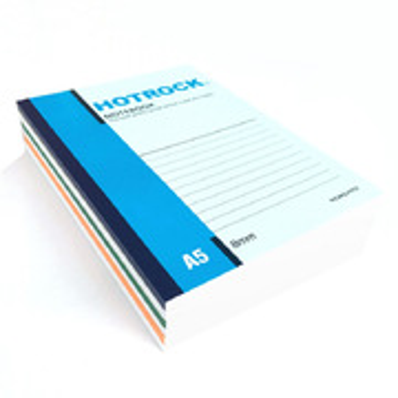 何如 R1050 螺旋装订本(大包装) A5 混色 50页 12本/封 整封销售