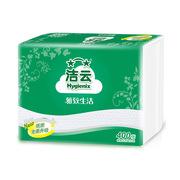 潔云 10370001/103704 柔韌壓花衛生紙  400張/包,42包/箱
