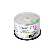 麦克赛尔 CD-R 光盘 700MB/48X(50片筒装)  彩色