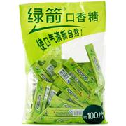 綠箭   單片裝 薄荷味口香糖(約100片) 300G