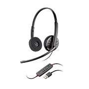 缤特力 C320 USB耳麦    (双耳降噪,带线控)
