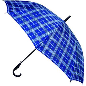 天堂 170E 高密拒水隐格聚酯纺直杆晴雨伞  70*10K