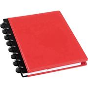 M Brand 23172 Arc多功能真皮笔记本 A5, 60页. 红色