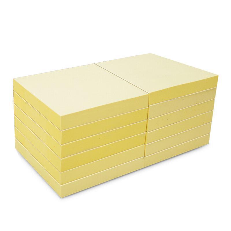 """N次贴 31005 标?#22841;?#20415;条纸 3""""×3"""" 黄色"""