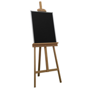 史泰博 4506 經典系列畫架黑板 450*600 黑色 書寫、展示