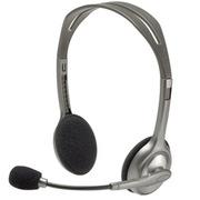 羅技 H110 立體聲耳機麥克風  H110 黑色