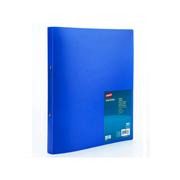 史泰博 22613 25mm背宽O型双孔文件夹 A4,16mm孔径 蓝色