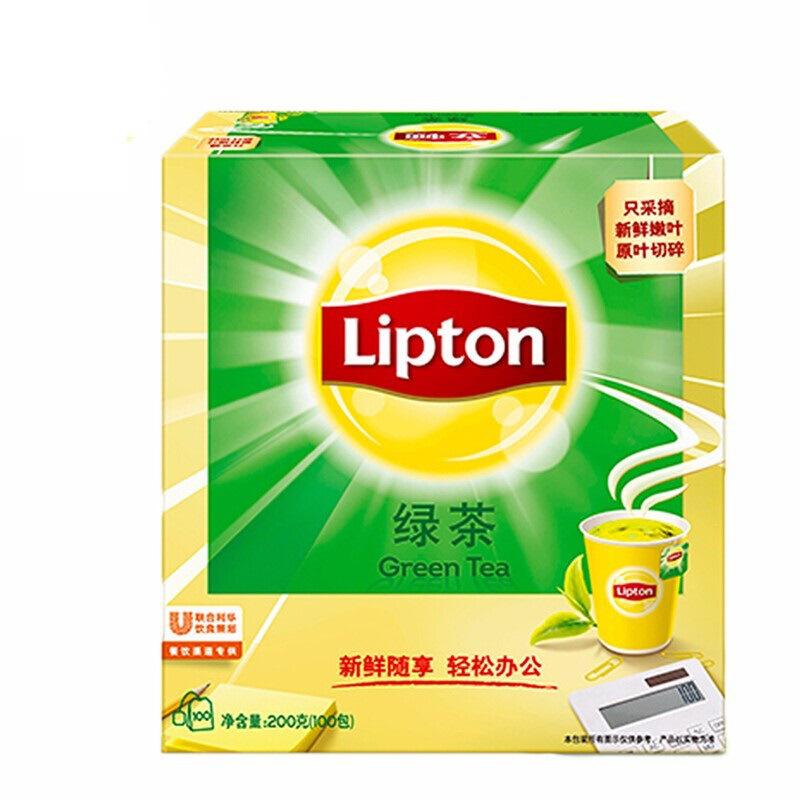 立顿 绿茶 S100 2G*100