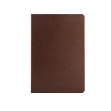 史泰博 平裝仿皮筆記本 25K,80頁 棕色