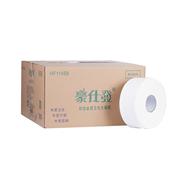豪仕发 HF1145B 单层500米大卷纸 12卷/箱   箱装 厕纸