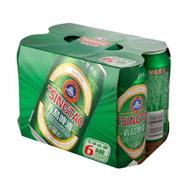 青岛    啤酒六连包 330ml*6