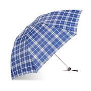 天堂 339s 格紋強力拒水系列三折超輕雨傘