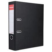 易达 27107P 半包胶档案夹 A4 3寸 黑色