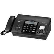 松下 KX-FT876CN 热敏纸复印传真机办公家用电话一体机中?#21335;?#31034;  黑色