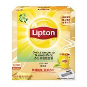 立頓 辦公組合茶包紅茶+綠茶S100 100包/盒