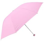 天堂 336T 银胶防紫外线三折晴雨伞 57cm*8k