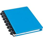 M BRAND 9002640 Arc多功能真皮笔记本 A5,60页 蓝色