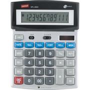 必威登录网站 SPL-290X 高键双电源电子计算器 12位数字显示 银色