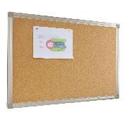 史泰博   铝合金边框软木板 90*150 原木色 办公文具