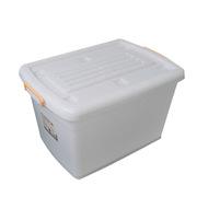 滋仁 108型 塑料整理箱1號 80L 64*45*38cm 透明白色