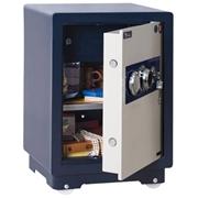 永发 J-50B3C  机械保险柜 H570*W390*D330  宝蓝色箱体+白色门板
