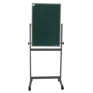 史泰博 双面绿板(配移动不锈钢支架) 60*90 绿色 办公文具