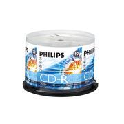飛利浦 CD-R 飛利浦 700MB/52X(50片筒裝) 銀色 一次性刻錄光盤