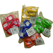 杰麗斯 087 鑰匙扣/鑰匙牌 40*28mm 藍色 8個/包