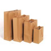 国产 大号250g 竖式棉绳黄浆牛皮纸袋 10个/包 32*40*10 大号250g