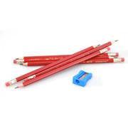马可 2B带橡皮头铅笔4218E-12CB(12支/盒)