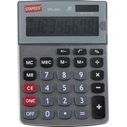 必威登录网站 SPL-240 低键双电源电子计算器 8位数字显示 银色