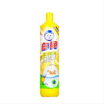 白猫 高效去油 洗洁精 900g 黄瓶