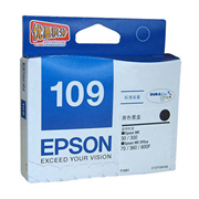 爱普生 T1091 墨盒   黑色 (适用 ME30/ME70/ME80W/ME1100/ME300/ME360/ME510/ME520/600F/650FN/700FW、240页)