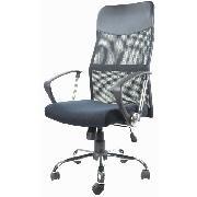旭坤 WH-Z200TG 高背主管網椅 W590*D610*H1050-1140