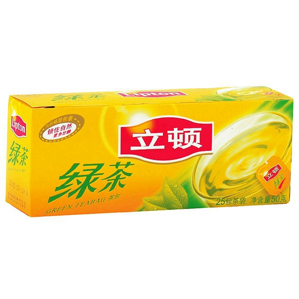 立頓   綠茶 2g*25