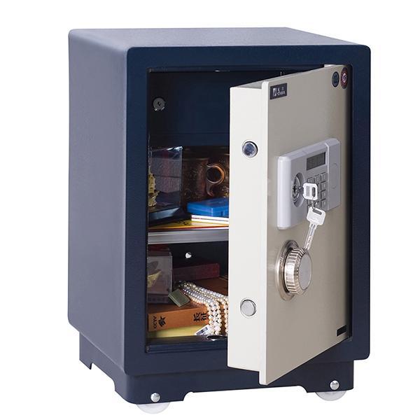 永發 D-50BL3C  電子保險柜 H570*W390*D330  寶藍色箱體+白色門板
