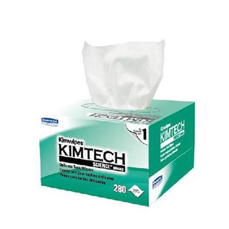 金佰利 34155 低塵擦拭紙(小號單層) 280張/盒 ?60盒/箱 白色