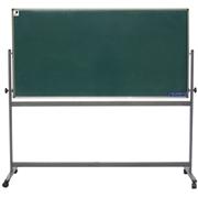 史泰博   雙面綠板(配移動不銹鋼支架) 90*120 綠色 辦公文具
