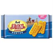 康师傅  美味酥咸饼干 黑胡椒牛排味   85g