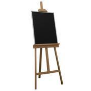 史泰博 0609 經典系列畫架黑板 600*900  書寫、展示