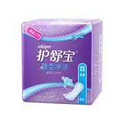 護舒寶   隱型凈潔超薄衛生護墊無香 40片